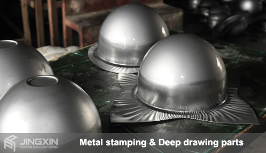 Deep drawing stamping