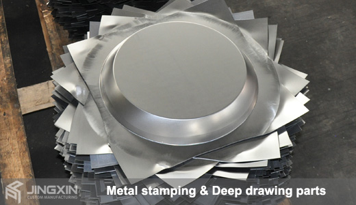 Deep Drawing Metal Stamping Sheet Metal Fabrication China