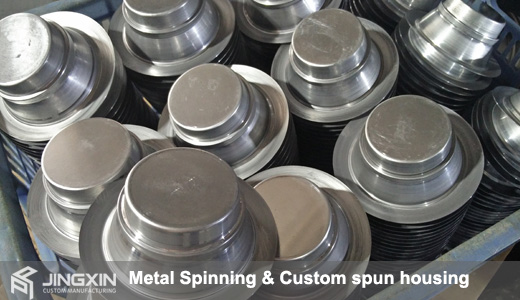 Metal spinning services factory
