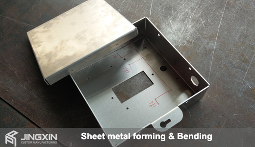 Sheet metal forming,CNC bending services,CNC punching