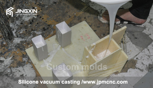 Vacuum casting process in China,Rapid Silicone mold short run production