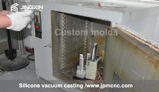 oven machine for vacuum casting