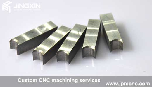 CNC machined stainless steel components