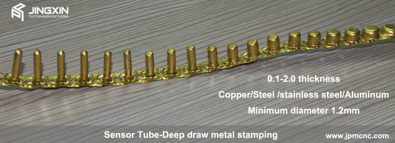 Deep Drawn Sensor Tubes Copper And Stainless Steel Deep