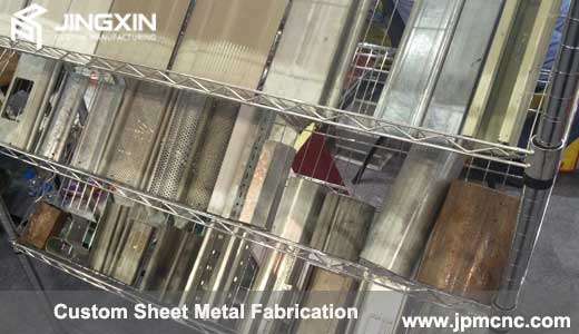 Custom sheet metal mesh plate