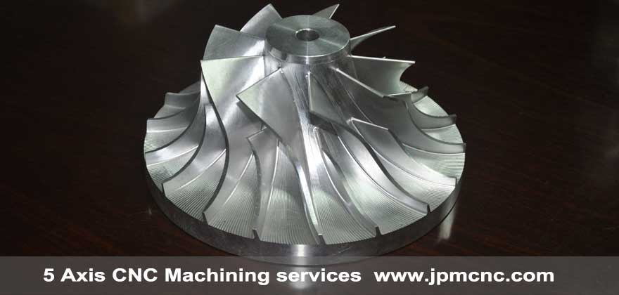 5 Axis cnc machined components