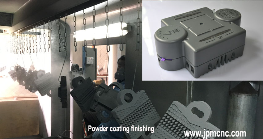 Aluminum-alloy-die-casting-parts-with-powder-coating-finishing