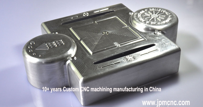 Blank-CNC-machined-aluminum-parts-with-tool-mar