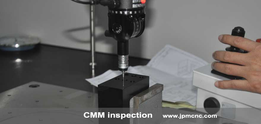 CMM inspection for 5 Axis machined parts