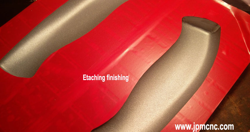 Etaching-finishing