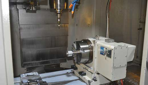 4-Axis Precision cnc machining components
