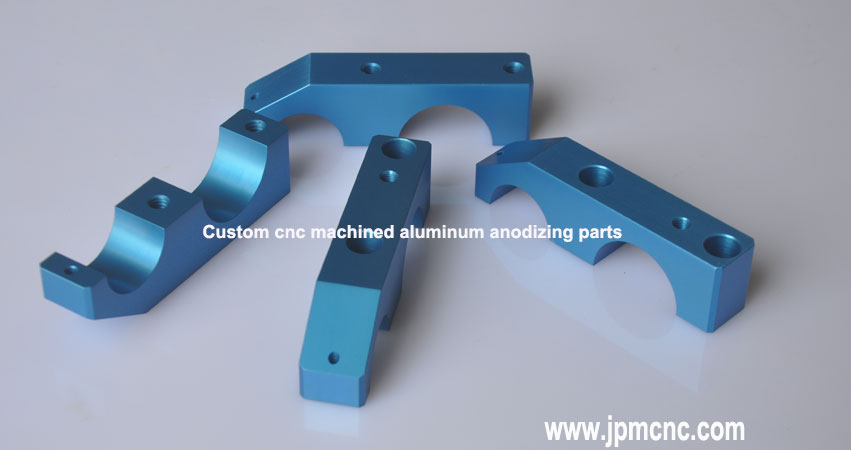 Machined aluminum parts