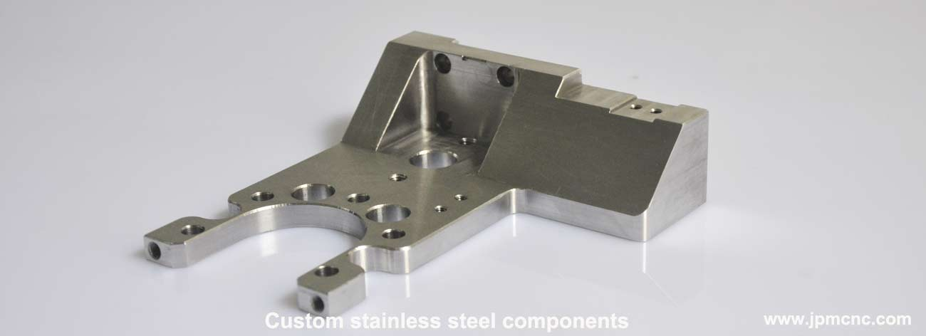 CNC milling stainless steel automation components