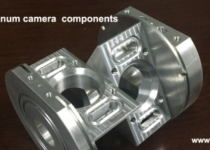 CNC machined Aluminum camera main body