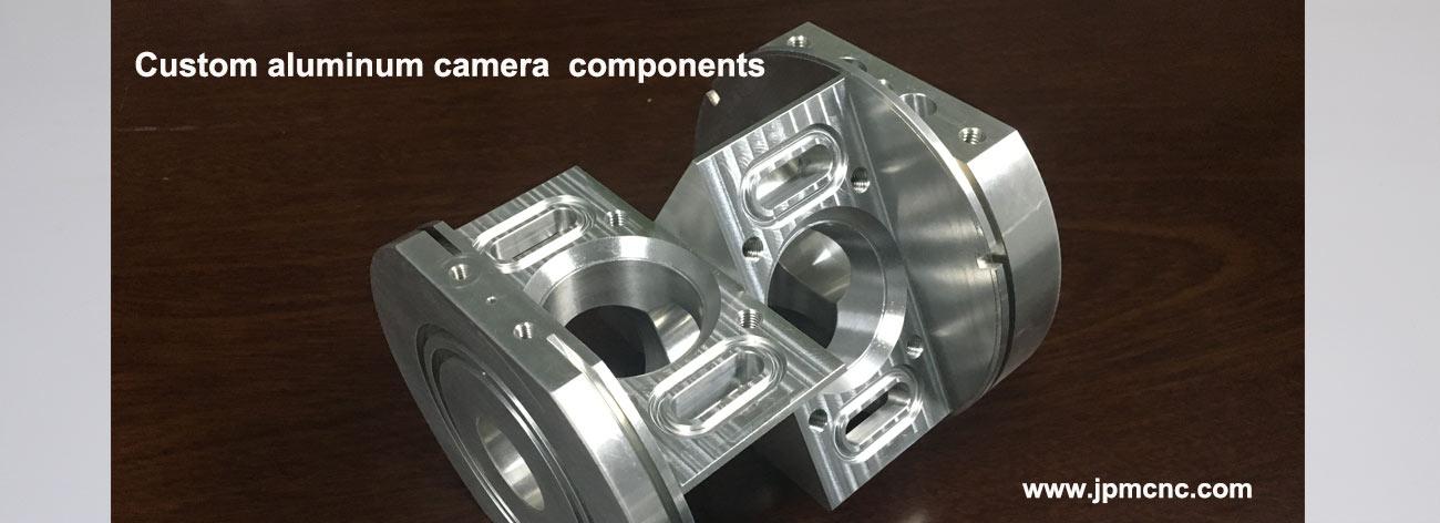 CNC machined Aluminum camera main body